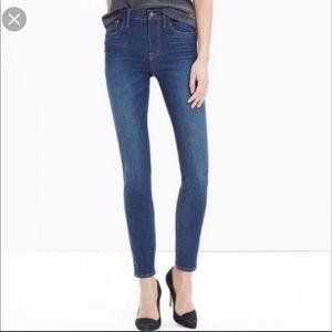 32t tall true skinny super high rise gap Jeans